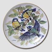 "Bradex plate in the series ""European Songbirds"" ""Blue Tit"""