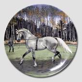"Plate in the series ""Thoroughbred Horses"", Spode"