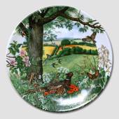 "Plate in the series ""Panorama"""