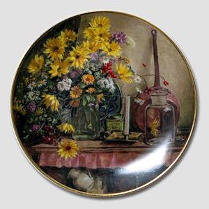 Plate No. 5 in the series Still-Lifes, Royal Mosa | Year 1989 | No. BRADEX31-R67-1-5 | Alt. DV.1884 | DPH Trading