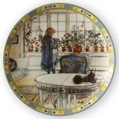 Plate no 1 in the series The Children of Carl Larsson