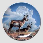 "Dominion Plate in the series ""Wild and Free"""