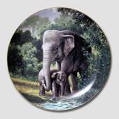 "W S George, Plate, ""Endangered Species"""