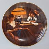 Knowles plate, Rockwell's Light Campaign Series