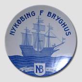 Brewery plate, The Brewhouse of Nykoebing F.