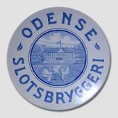 Brewery plate, The Odense Castle Brewery