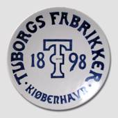 1898 Brewery plate, The Tuborg Factories
