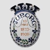 Brewery plate, Tuborg 1873-1908