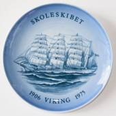 Ship plate, The Trainingship Viking 1975, Bing & Grondahl