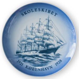 Ship plate, The Trainingship Copenhagen 1976, Bing & Grondahl | Year 1976 | No. BS1976 | Alt. BNR4873-619 | DPH Trading