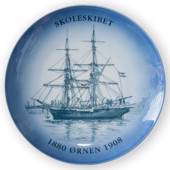 "Ship plate ""The Eagle"" 1996, Bing & Grondahl"