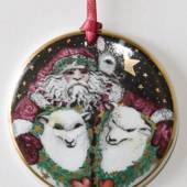 1998 Bing & Grondahl Santa Claus around the world ornament