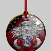 2000 Bing & Grondahl Santa Claus around the world ornament