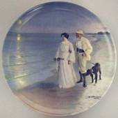 P.S. Kroyer plate The Artist and his Wife, Bing & Grondahl