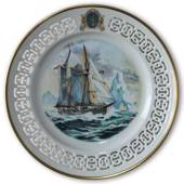 Gladan - The Swedish Training Ship. Windjammer plate nr. 3, Bing & Grondahl