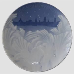 Behind the Frozen Window 1895, Bing & Grondahl Christmas plate