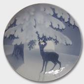 Anxiety of the coming Christmas Night 1905, Bing & Grondahl Christmas plate