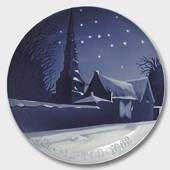 St. Petri Church of Copenhagen 1908, Bing & Grondahl Christmas plate