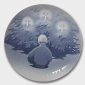 Joy of the Christmas Tree 1909, Bing & Grondahl Christmas plate