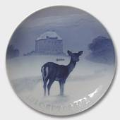 The Royal Hunting Castle 1923, Bing & Grondahl Christmas plate