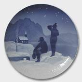 Eskimos at a Church