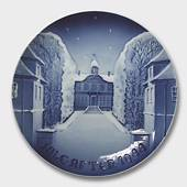 The Sorgenfri Castle 1944, Bing & Grondahl Christmas plate