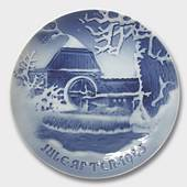 The Old Watermill 1945, Bing & Grondahl Christmas plate