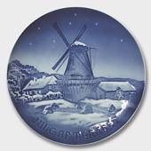The Dybbol Mill 1947, Bing & Grondahl Christmas plate
