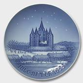 The Kalundborg Church 1955, Bing & Grondahl Christmas plate