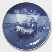 Christmas guests arriving 1969, Bing & Grondahl Christmas plate