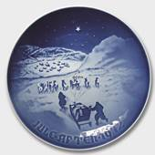 Christmas in Greenland 1972, Bing & Grondahl Christmas plate
