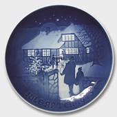 Visiting the Countryside 1973, Bing & Grondahl Christmas plate