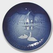 Village Christmas 1974, Bing & Grondahl Christmas plate