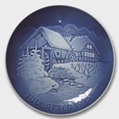 The old water mill 1975, Bing & Grondahl Christmas plate