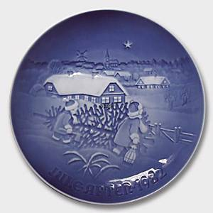 The Christmas tree 1982, Bing & Grondahl Christmas plate