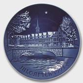 The Copenhagen Stock Exchange 1991, Bing & Grondahl Christmas plate