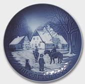 A Day at the Deer Park 1994, Bing & Grondahl Christmas plate