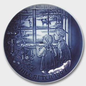 Country Christmas 1997, Bing & Grondahl Christmas plate | Year 1997 | No. BX1997 | Alt. 1902197 | DPH Trading