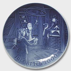 Christmas in the belfry 2000, Bing & Grondahl Christmas plate | Year 2000 | No. BX2000 | Alt. 1902200 | DPH Trading