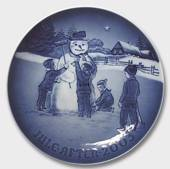 Frosty the Snowman 2003, Bing & Grondahl Christmas plate