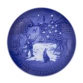Light in the snow 2013, Bing & Grondahl Christmas plate