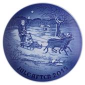 Santa's presents 2015, Bing & Grondahl Christmas plate