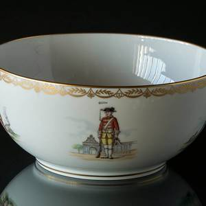 The Royal Guard Bowl 1658-1983, Royal Copenhagen | Year 1982 | No. DG1083 | DPH Trading