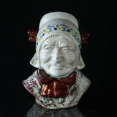 Bust of Fisher's Wife, ceramics, Michael Andersen & Son