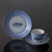 Castle Dinner set Cup and plate with Amalienborg, Bing & Grondahl