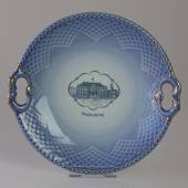 Castle Dinner set Cake plate (Amalienborg)