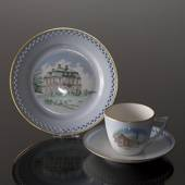 Denmark Dinner set Cup (Børsen) and Plate (Eremitagen)