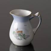 Denmark Dinner set Cream jug (Højerup Church and Gjorslev Manor), Bing & Gr...