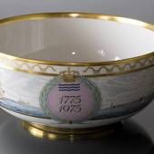 Bicentenary Copenhagen Bowl, RC 1775-1975, Royal Copenhagen