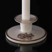 "Royal Copenhagen Candlestick,  Hans Christian Andersen´s motif ""The Swinehe..."